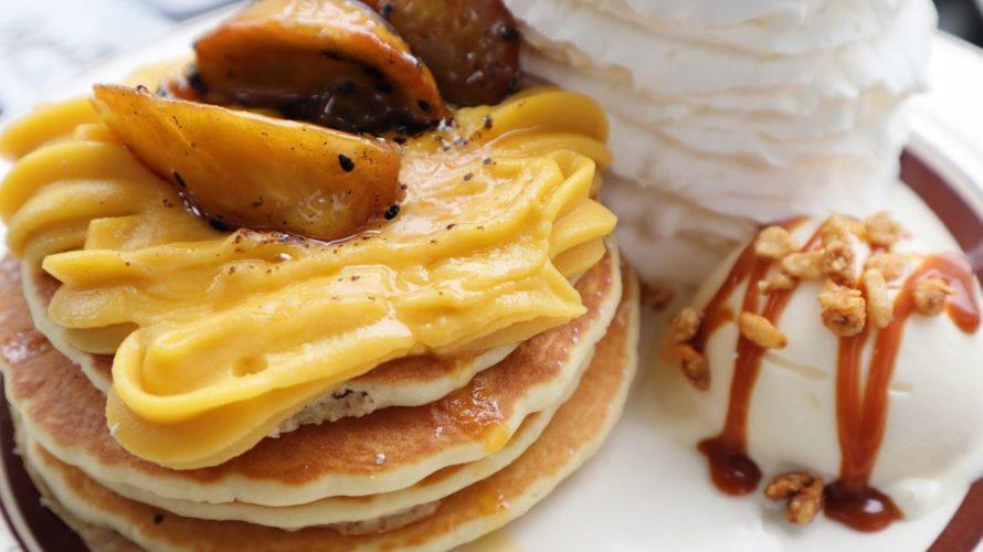 Eggs'n Things(エッグスンシングス) 銀座店  たっぷりホイップクリームのパンケーキ